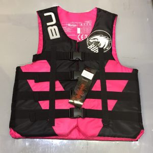 Burn Pink and black